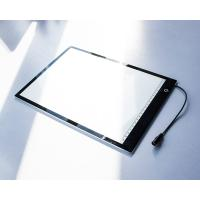 China 5mm Thickness LED Tracing Board / Portable Light Board Transparent Acrylic Surface wholesale