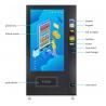 China Touchscreen Small Drink Vending Machine , Black Vending Machine Equipment wholesale