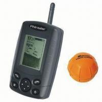 China Wireless Fish Finder with 5V Recharge Voltage, Built-in Lithium Battery for Sonar Sensor Operation wholesale