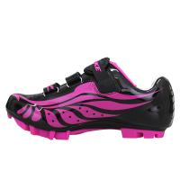 China Dampproof Ladies MTB Cycling Shoes Nylon TPU Outsole High Pressure Resistance wholesale