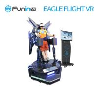 China Exciting Interactive 360 Degree Stand Up Flight VR Simulator / Virtual Reality Equipment wholesale