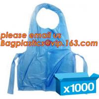 China Aseptic Blue Plastic Disposable Apron for Doctor Checking,Disposable aprons PE medical doctor apron,PE Apron For Doctor wholesale
