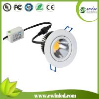 China 48mm low profile 75mm cut size dimmable 6w downlight opal ceiling fixture downlight wholesale