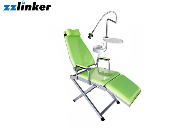 Quality Colorful Dental Chair Unit Portable Patient Chair With Spittoon Lamp And Tray for sale