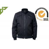 China 100% Cotton Black Military Tactical Jackets Soft Shell Windproof Washed wholesale