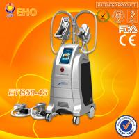 China 4 cryo handles/hot and cool therapy/ 2 handle can work togther cryolipolysis fat freezing liposuction machine wholesale