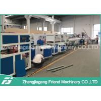 China Water Supply HDPE PP Plastic Pipe Machine With PVC Powder Raw Material wholesale