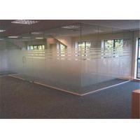 China 4mm  - 19mm Thickness Clear Frosted Glass , Tinted / Colored Frosted Glass wholesale