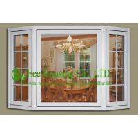 China PVC Bay Windows With Clear Glass For Villas/Apartment, Energy efficient vinyl windows wholesale