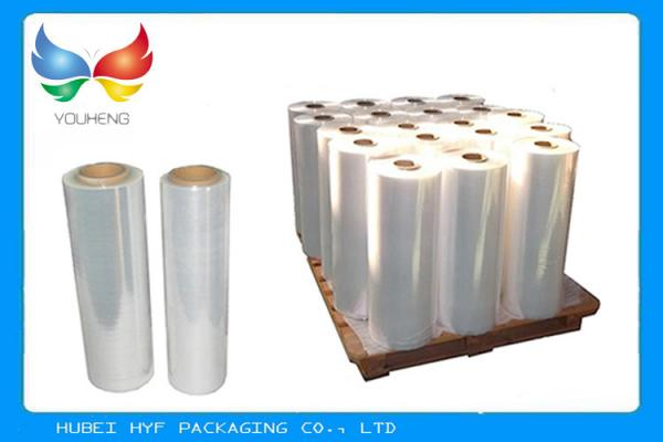 Quality 40 Mic Soft Clear Transparent PVC Shrink Film For Bottle Labelling for sale