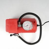 China Red Vehicle Air Compressors Mini Air Pump Dc 12v 10ft Cord For Car  Bicycle wholesale
