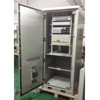 "China DDTE011, IP55 19"" Rack Custom Made Outdoor Integrated Telecom Enclosure For Base Station wholesale"