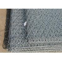 China Pipeline Protection Electro Galvanized Welded Wire Mesh Hexagonal Weave Style wholesale