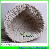 China LDKZ-035 cotton rope crochet basket large home foldable storage basekt wholesale