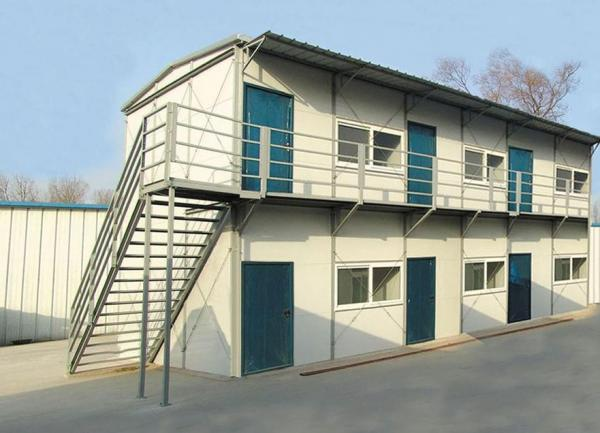 Modular house with flat roof images for Prefab roof