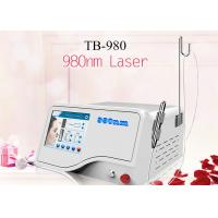 China 10W Portable Spider Vein Removal Touch Screen 980nm Diode Laser Equipment 1-5Hz wholesale