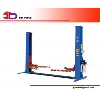 China Two Post Hydraulic Car Lift, Four Cylinder Structure Automotive Car Lifts with Bottom Bar wholesale