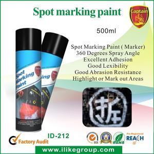 China Jet résistant à la chaleur de peinture d'inscription, couleurs de Fluoro de peinture d'inscription de tache wholesale