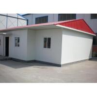 China Sandwich Panel Prefab Steel Houses Bolts Connection For Residential Building wholesale
