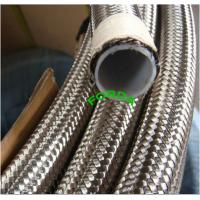 China Teflon Lining Braided Hose on sale