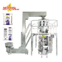 China Automatic Puffed Rice Snacks Food Pouch Packaging Machine Nitrogen Flushing on sale