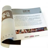 China UV coated offset paper flyer printing / Color Booklet Printing Service with SGS-COC-007396 on sale