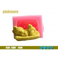 Sleeping Baby Silicone Baking Moulds For Cake Decorating FDA Approval