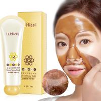 China Honey tearing mask Peel Mask oil control Blackhead Remover Peel Off Dead Skin Clean Pores Shrink Facial care face Skinca wholesale