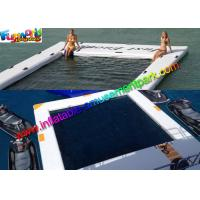 China Customized Yacht Large Inflatable Water Toys Inflatable Sea Pool With Drop Stitch on sale