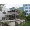 China Metal Mesh Concrete Foam Prefab Steel House / Steel Frame Prefabricated Houses wholesale