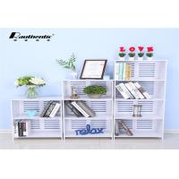 China Multi-layer storage rack for large capacity stacks White Multi Size simple storage rack wholesale