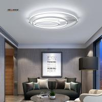 Buy cheap New Aluminum+Acrylic Modern led ceiling lights for living room bedroom Home Dec Plafon home Lighting ceiling lamp from wholesalers