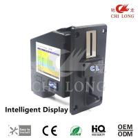 China Plastic Black Panel Multi Coin Selector With Cpu Program Control Cl-168d on sale