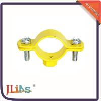 China Cast Iron Hanging Pipe Clamps , Industrial Pipe Clamp Bracket ISO9001 Certification on sale