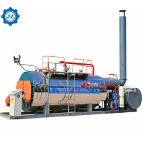 China Industry Low Pressure Natural Gas Mobile Steam Boiler For School Swimming wholesale