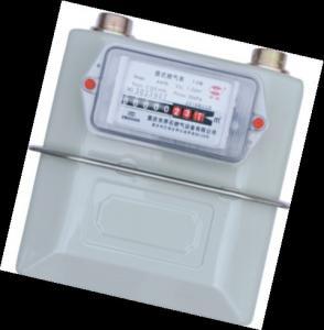 China Standard Propane Domestic Gas Flow Meter Intelligent Diaphragm Flow Meter wholesale