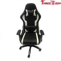 China Custom Racing Bucket Seat Office Chair , High Density Foam Swivel Office Chair wholesale