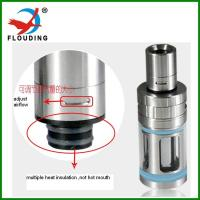 China sub ohm tank, top heating, vape big cloud support Ni Ti SS airflow adjusting e cigarette  clearomizer wholesale