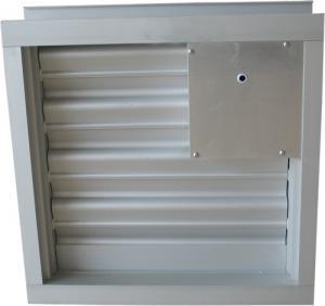 China Aluminum alloy turbine manually adjustable shutter wholesale
