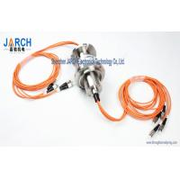 China 4 Channel  2000rpm for Multi-mode Fibre Optic Slip Ring/FORJ Stainless Steel Housing wholesale