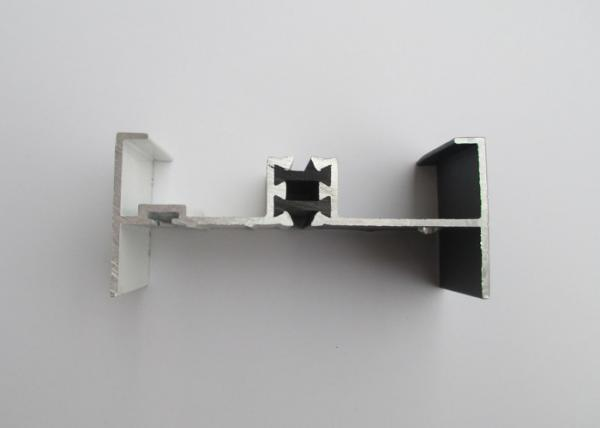 Quality White Powder Coated Aluminium Window Profiles , Extruded Aluminum Window Frame for sale