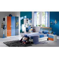 Buy cheap Modern High Gloss Painting Kids Bedroom Sets / Childrens Bedroom Furniture from wholesalers