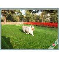 China Balcony Banquet Pet Artificial Turf Fire Resistant SBR-Latex / PU Backing wholesale