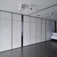 China Office Movable Partition Walls / Acoustical Operable Folding Panel Partition wholesale