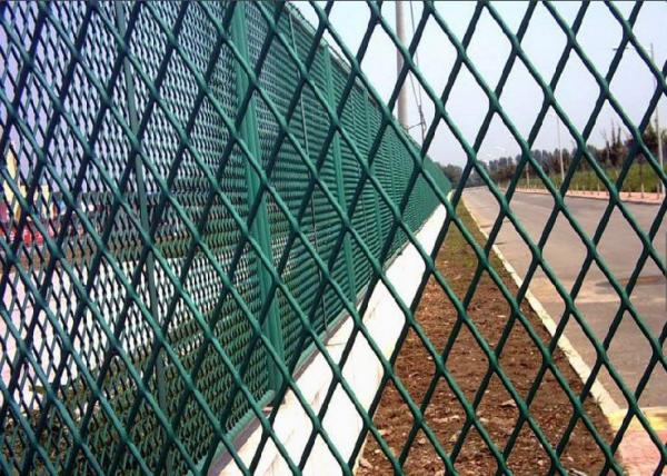 Quality Customized Size Expanded Metal Wire Mesh , Rhombus Expandable Metal Mesh for sale