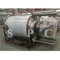 China Multi Function Fruit Drink Steam Sterilization Equipment Low Temperature Roller Type wholesale