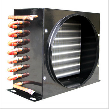 Quality Electric copper tube heat exchange Air Cooled Condenser coil FNA-0.25/1.2 FN series for sale
