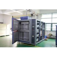 China Vertical Lift Thermal Shock Test Chamber With Separate Hot And Cold Temperature Zones on sale
