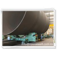 China 1000t Hydraulic Jacking Welding Rotator W/t Move Trolley for Offshore Windmill wholesale