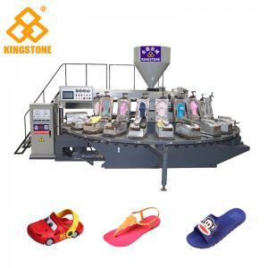 China Energy Saving PVC PCU Slipper Making Machine For Children's Cartoon Shoe Slipper Sandal Sole on sale